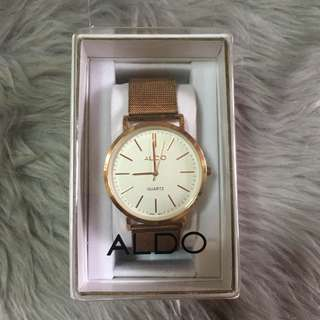 Aldo Rose Gold Watch