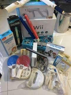 Wii Console + Accessories