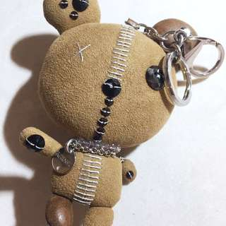 Swarovski 熊仔扣 teddy bear bag charm