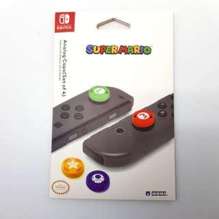 🚚 [In Stock] Mario Edition Nintendo Switch JoyCon Thumbgrip Set
