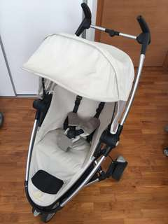 Quinny Stroller ZAPP XTRA with Rain cover