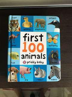 First 100 animals by Priddy Baby