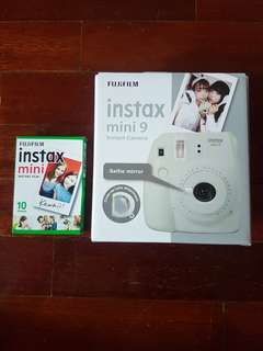 #july100 Fujifilm Instax Mini 9 + film (10sheet)