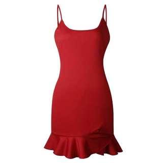 🚚 BD734 Slip On Fishtail Dress