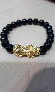 9999 Pure Gold Pixiu Bracelet
