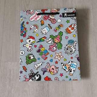 Tokidoki paper bag