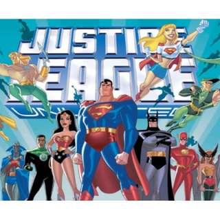 [Anime] Justice League Season 1 - 5 (Complete)