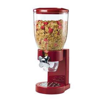ZevrO Honey-Can-Do Dry Food Dispenser, Single Control, Cereal/ Cornflakes/ Muesli Dispenser