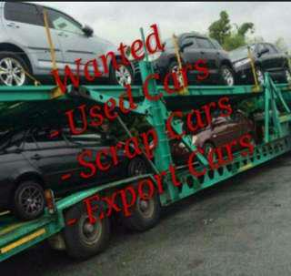 Wanted used and scrap cars