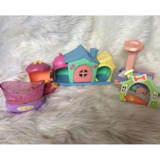 Littlest Pet Shop Small house and accessories