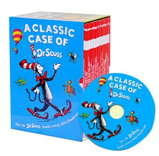 Dr Seuss Books Box Set - A Classic Case of Dr Seuss
