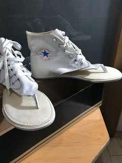 Converse original white sandals