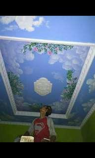 Lukisan flapon rumah