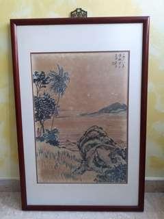 1968 陈世集南洋美专, Tan Tee Chie Painting - Plse offer to deal
