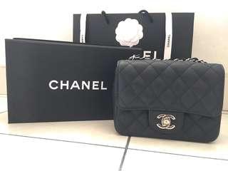 (Ready stock) Chanel mini square GHW