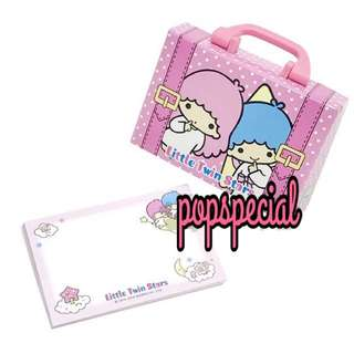 Little Twin Stars Memo writing papers inside box