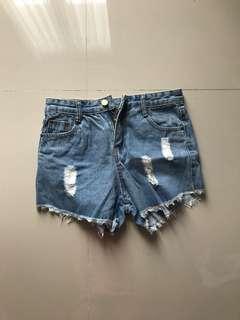 Short Ripped Jeans [STILL NEW]