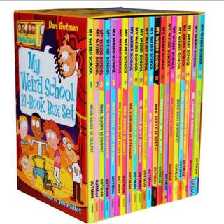 My Weird School 21 Book Box Set