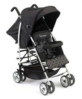 Kinderwagon Lightweight Double Stroller