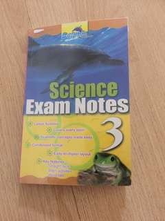 Primary 3 science exam notes