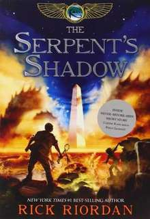 The Serpent's Shadow by Rick Riordan paperback (Kane Chronicles book 3)
