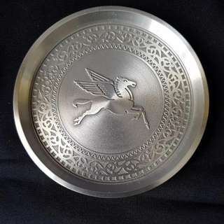 Mobil Oil Pegasus Commemorative Pewter