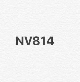 車牌號碼NV814
