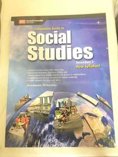 (Brand New) Companion Guide to Social Studies Sec 3 New Syllabus