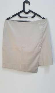 [PRELOVED] Silver Mini Skirt