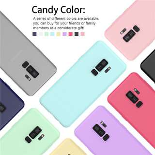 Ultra Thin Candy Rubber Case