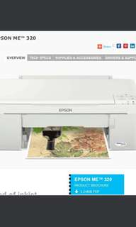 🚚 Epson ME320 Printer