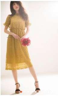 🚚 GRL蕾絲連衣裙