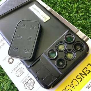 Momax X-Lens Case iPhone X 六合一鏡頭保護殼 影相神器