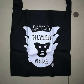 日本潮牌Human Made tote bag ape
