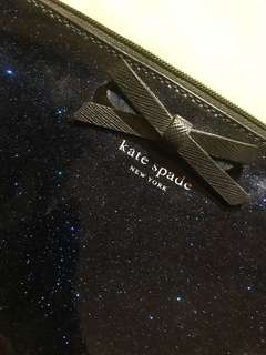 Kate Spade Blue Glittery Sling/Cross body Purse