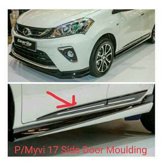 Myvi 2017  Side Door Moulding