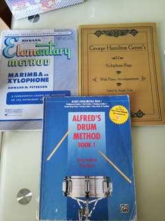 敲擊樂譜 marimba xylophone drum