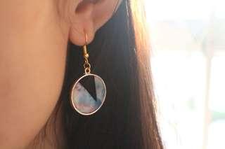 簡約風耳環