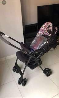 Aprica Karoon Plus High Seat Stroller