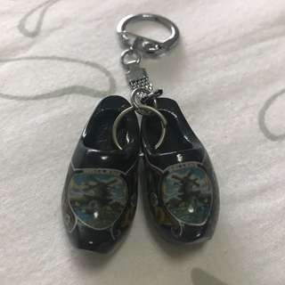 Clog shoes keychain from Holland