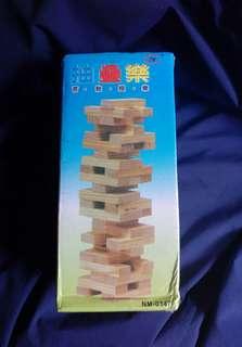 夾娃娃 疊疊樂 智慧積木 原木