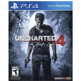Uncharted 4 - A Thief's End PS4