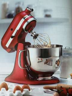 Kitchen Aid Mixer (Candy Apple)