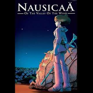 [Rent-A-Movie] NAUSICAA OF THE VALLEY OF THE WIND (1984) [MCC004]