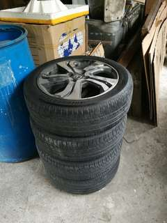 2014 VX stock mags and tires