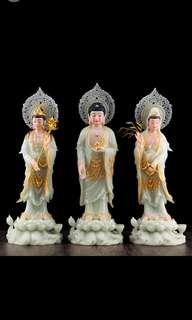 Jade buddha纯玉佛