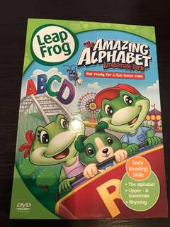 Leap Frog the Amazing Alphabet Amusement Parks DVD