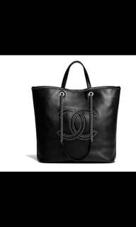 Large Chanel Leather Tote - comes with receipt