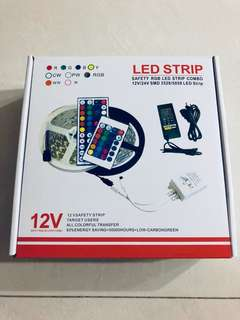 5metre RGB LED Strip Light with Remote