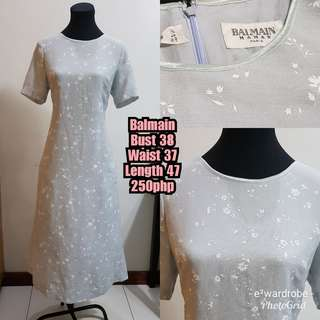 Balmain vintage dress